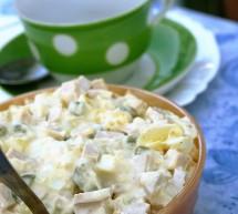 Klassischer Nudelsalat (leichte Variante)