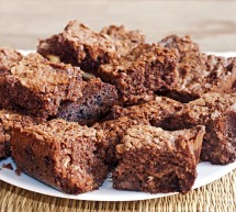 Schokoladen-Macadamia-Brownies